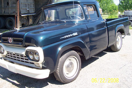 Ford on 1960 Ford F 100 Custom Cab